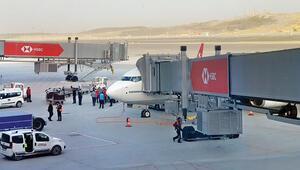 Yurtdışına ilk uçuş Kıbrıs'a