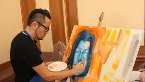 Dünya ressamları Alanyada buluştu