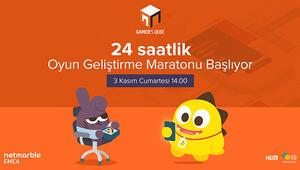 24 saatlik oyun geliştirme maratonu Gamer's Jam İTÜde başlıyor