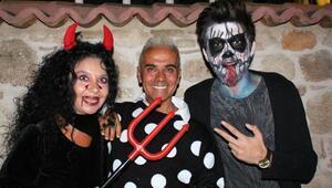 Antalyada Cadılar Bayramı kutlandı