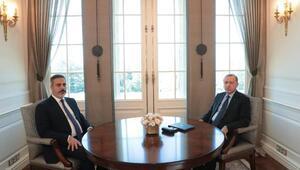 Cumhurbaşkanı Erdoğan, MİT Başkanı Fidanı kabul etti