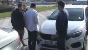 İnegölde zincirleme kaza: 8 araç birbirine girdi