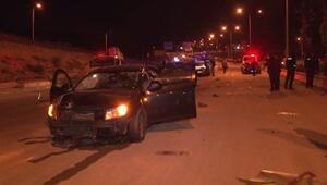 Başkentte asker uğurlama konvoyunda kaza: 6 yaralı