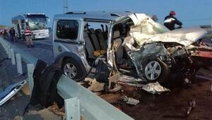 Sivasta otobüs kazası