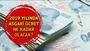 2019 yılında asgari ücret ne kadar olacak Asgari ücret komisyonu ne zaman toplanır