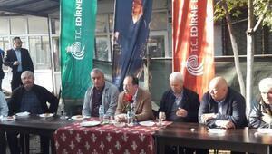 Edirne Belediye Başkanı Gürkan, Sanayi Esnafının sorunlarını dinledi
