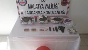 Malatyada uyuşturucu operasyonu: 4 gözaltı