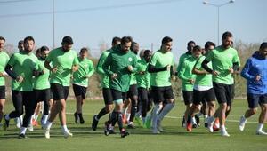 Konyasporda Sivasspor maçı hazırlıkları sürüyor