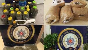 Bursada 1 ayda 521 uyuşturucu operasyonunda625 gözaltı