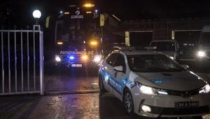 Fenerbahçe tesislerden ayrıldı (FOTOĞRAFLAR)