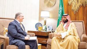 Suudi Prens'in ilginç konukları