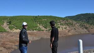 Bayraktepe Göleti tamamlandı