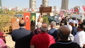 Mezitli Belediyesi 5'nci etap hobi bahçesi açıldı
