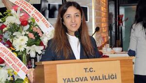 Yalova Valisi Tuğba Yılmazdan duygusal veda