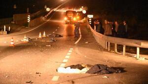 Edirnede minibüsün çarptığı 2 kadın öldü