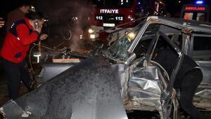 Düzcede hatalı sollama kazası: 1 ölü, 2 yaralı