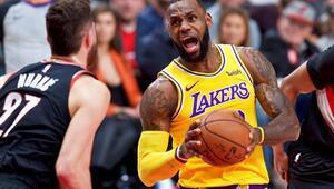 Lakers nihayet galip Tam 16 maç...