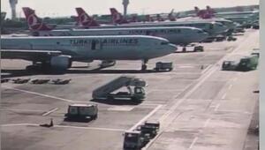 Atatürk Havalimanında kaza 9 kişi yaralandı