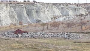 Bakan Ersoy Kapadokyadan ayrılmadan yıkımlar başladı