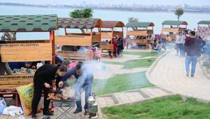 Mangalpark'ta ilk mangallar yandı - YENİDEN