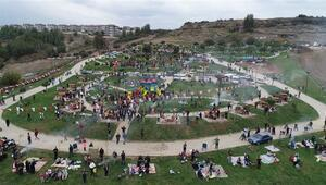 Adanada dev mangal park açıldı