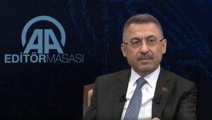 Cumhurbaşkanı Yardımcısı Fuat Oktaydan önemli mesajlar