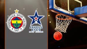 Fenerbahçe Anadolu Efes basket maçı ne zaman saat kaçta hangi kanalda