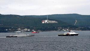 Rus savaş gemisi, Çanakkale Boğazından römorkörle geçti