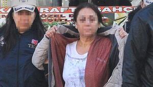 Temizlikçi kadına PKK gözaltısı