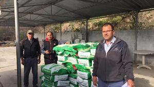 Kırklarelinde çiftçilere tohum dağıtıldı