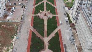 Haliliye'de park yapım çalışması sürüyor