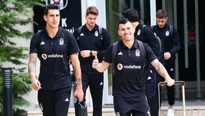 Beşiktaşın Belçika yolculuğu başladı 5 eksik...