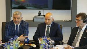 Başkan Çelik, Kayserigaz yönetim kurulu toplantısına katıldı