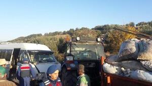 Öğrenci servisi ile traktör çarpıştı: 8 yaralı