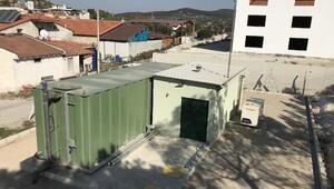 İZSUdan atık su için paket arıtma tesisi