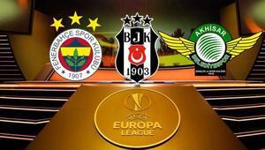 F.Bahçe, Akhisarspor ve Beşiktaş sahnede Avrupa Liginde iddaa bankosu...