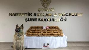 TIRda 110 kilo eroin ele geçirildi; 2 gözaltı