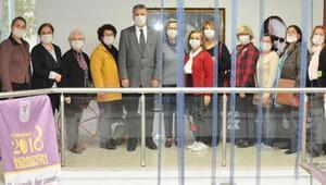 Lüleburgazda lösemili çocukları maskeli destek