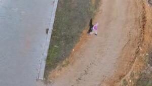 Drone gören yaşlı kadının tepkisi gülümsetti