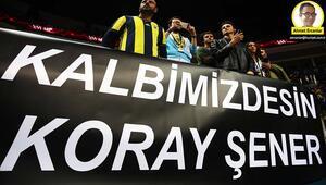 Fenerbahçe taraftarları Anderlecht maçında...