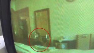Evini soyan eski kiracıyı gizli kamera sayesinde yakaladı