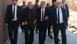 KAYÜ Rektörü Karamustafa 3 ilçenin meslek yüksekokulunda inceleme yaptı