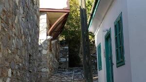 Taş evleriyle cazibe merkezi Doğanbey
