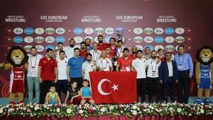 U23 Grekoromen Güreş Milli Takımı, dünya şampiyonasına hazır