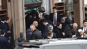 Cumhurbaşkanı Erdoğan cuma namazını Üsküdarda kıldı