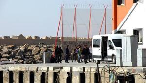 Samandağda 28 kaçak yakalandı