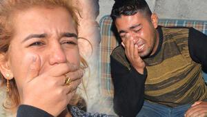 Evleri yanan çift gözyaşlarına boğuldu
