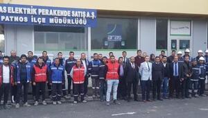 Aras EDAŞ çalışanlarına keserli saldırı