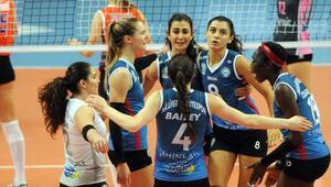 Nilüfer Belediyespor - Çanakkale Belediyespor: 3-0