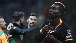 Galatasaray, Kayseride nefes aldı Maçta 3 gol, 1 kırmızı kart